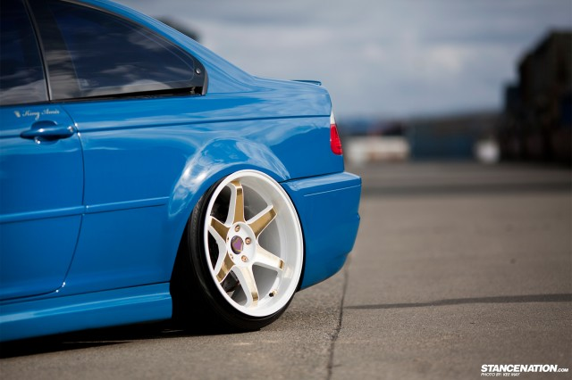Slammed Flush BMW M3 E46 (3)