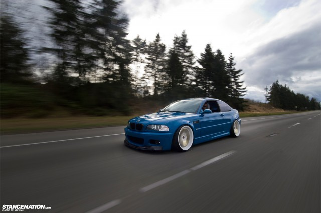 Slammed Flush BMW M3 E46 (4)