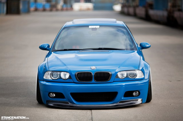 Slammed Flush BMW M3 E46 (5)
