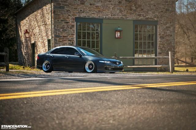 Slammed Static Acura TSX (13)