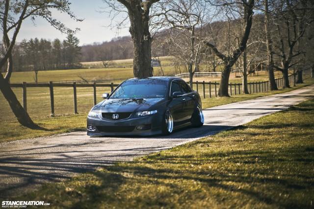 Slammed Static Acura TSX (12)