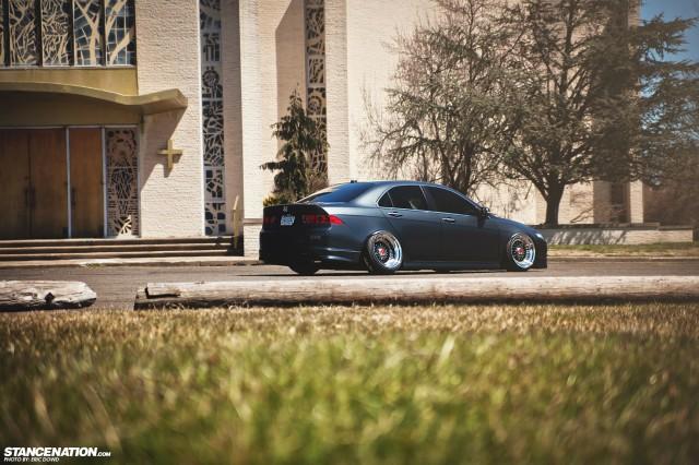 Slammed Static Acura TSX (3)