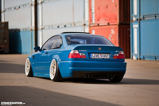 Slammed Flush BMW M3 E46 (7)