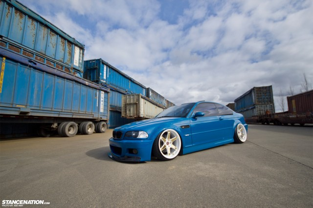 Slammed Flush BMW M3 E46 (9)