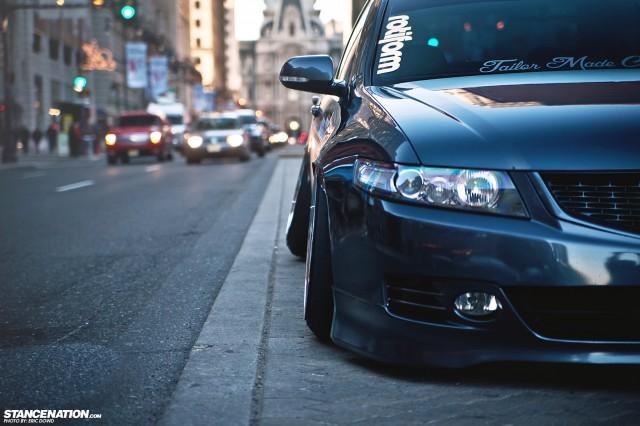 Slammed Static Acura TSX (9)