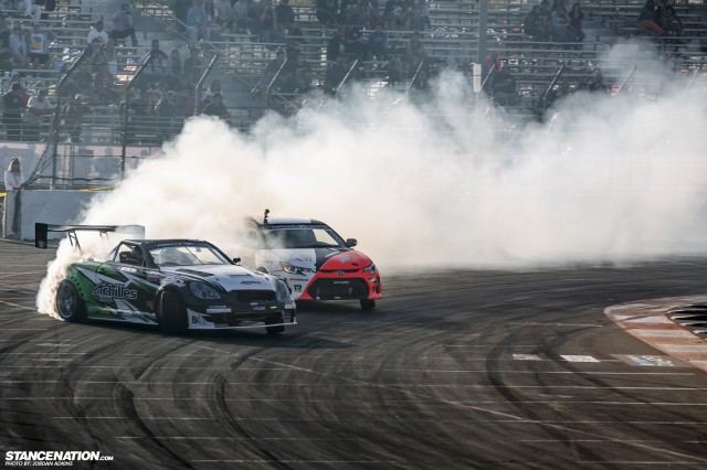 Formula Drift Round 1 Streets of Long Beach Photo Coverage (53)