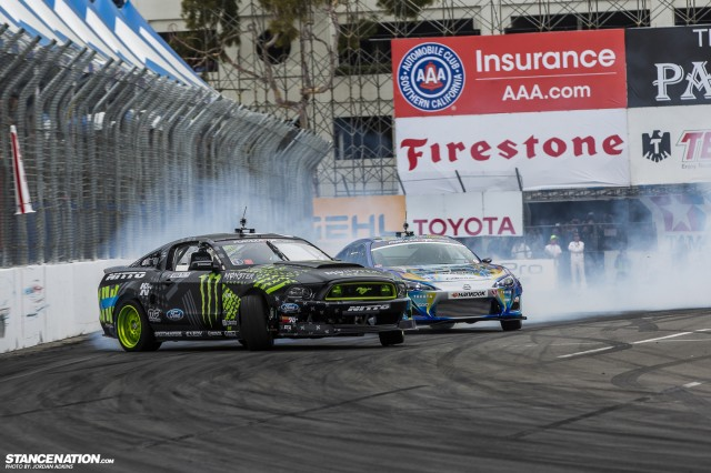 Formula Drift Round 1 Streets of Long Beach Photo Coverage (20)