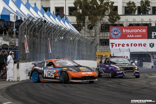 Formula Drift Round 1 Streets of Long Beach Photo Coverage (9)