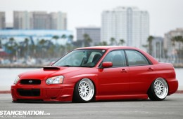 Slammed & Fitted Subaru WRX (1)