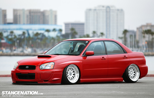 Slammed & Fitted Subaru WRX (1)