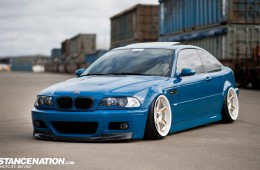 Slammed Flush BMW M3 E46 (10)