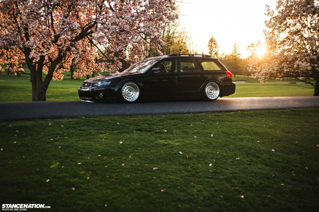 Getting It Jay S Bagged Subaru Legacy Outback