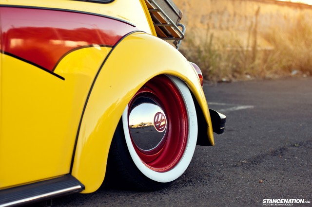 Slammed & Stanced VW Beetle Bug (5)