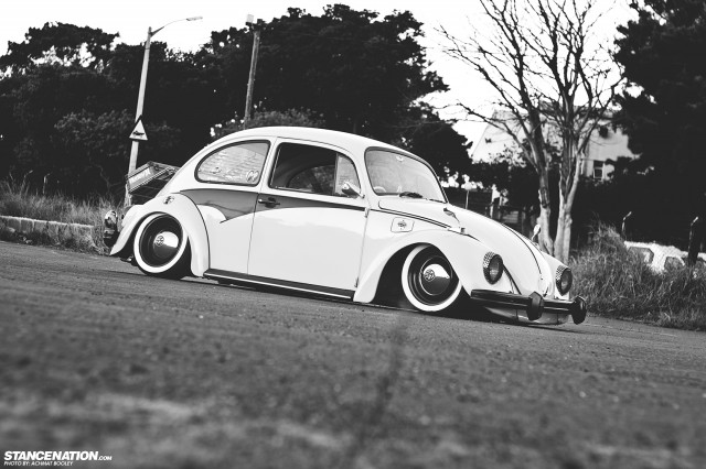 Slammed & Stanced VW Beetle Bug (4)