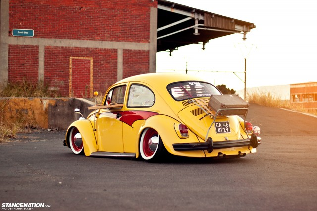 Slammed & Stanced VW Beetle Bug (3)