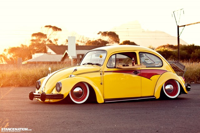 Slammed & Stanced VW Beetle Bug (2)