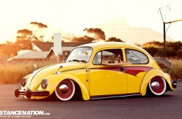 Slammed & Stanced VW Beetle Bug (1)