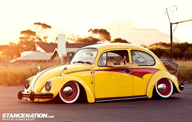 Slammed & Stanced VW Beetle Bug (1)