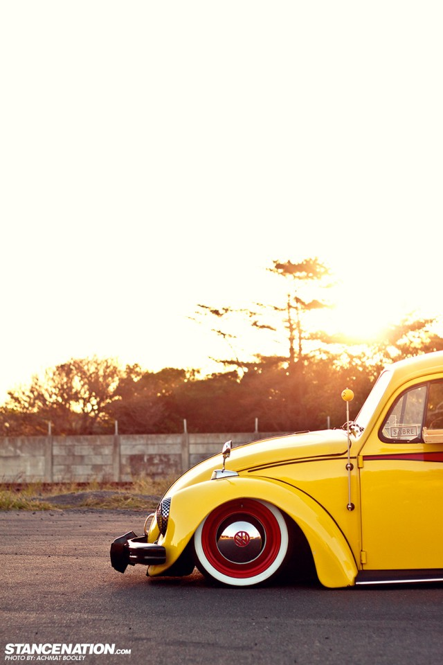 Slammed & Stanced VW Beetle Bug (15)