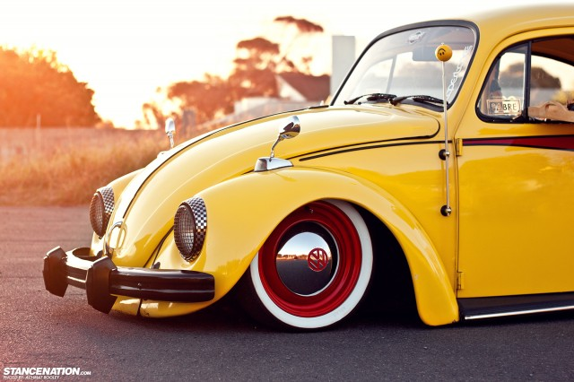 Slammed & Stanced VW Beetle Bug (14)