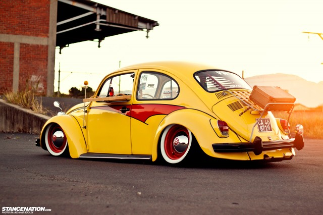 Slammed & Stanced VW Beetle Bug (13)