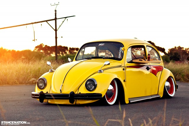 Slammed & Stanced VW Beetle Bug (10)
