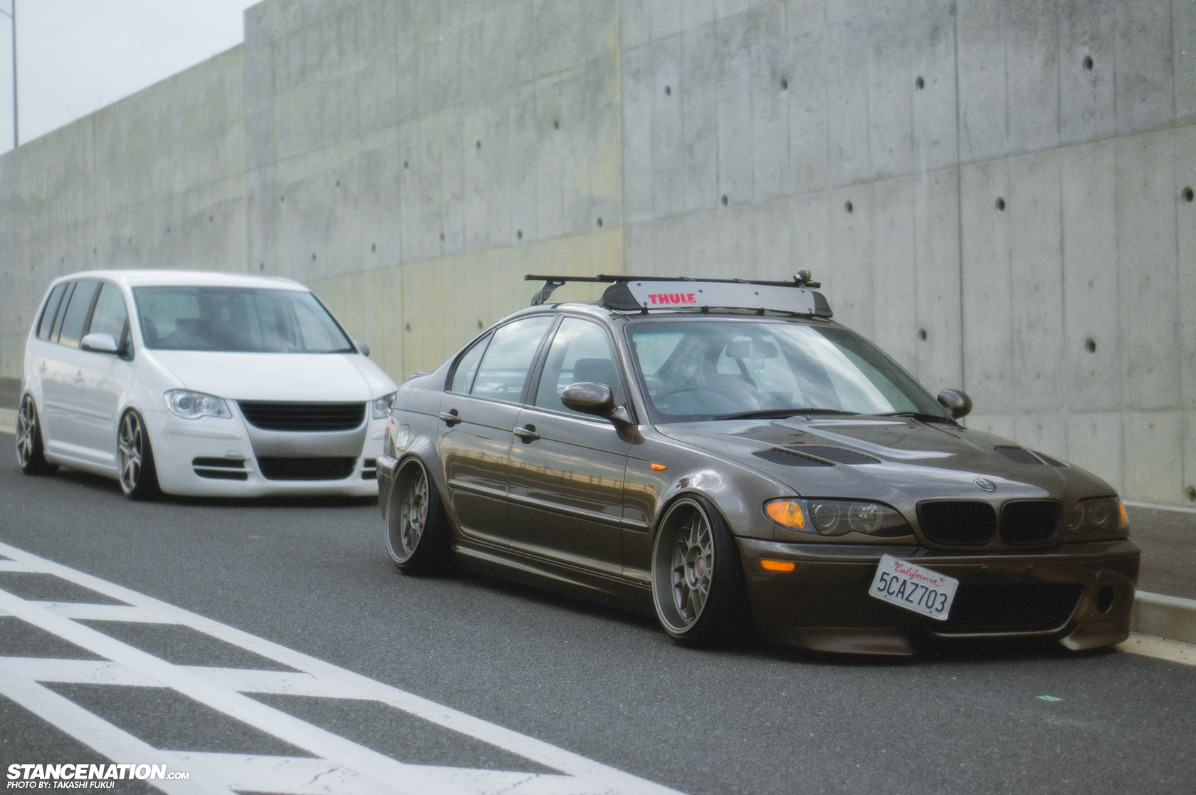Bmw 330i X Vw Touran Jp S Euro Flavor Stancenation Form