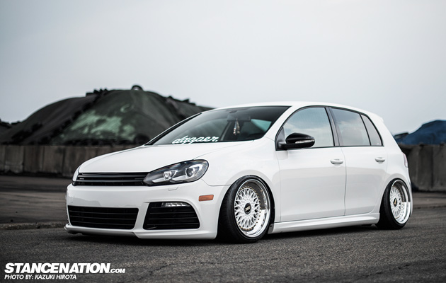 Stanced VW Golf GTI Japan (1)