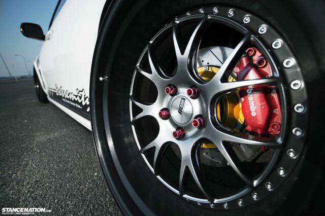 Slammed Toyota Aristo Lexus GS430 Japan VIP (4)