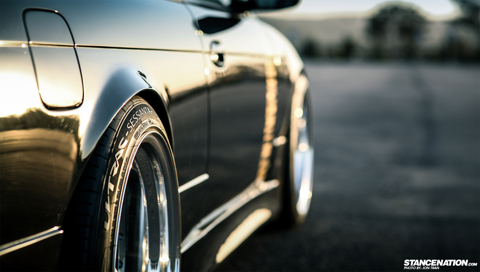Stanced Nissan 240sx
