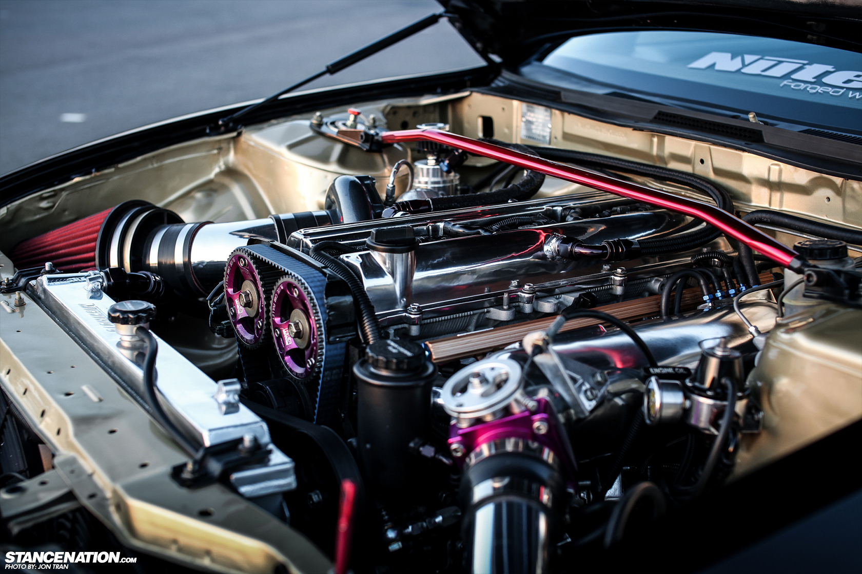 Nissan 240sx S14 Powered With 2jz Engine Via Stancenation Bhtuning Com Tuning Styling