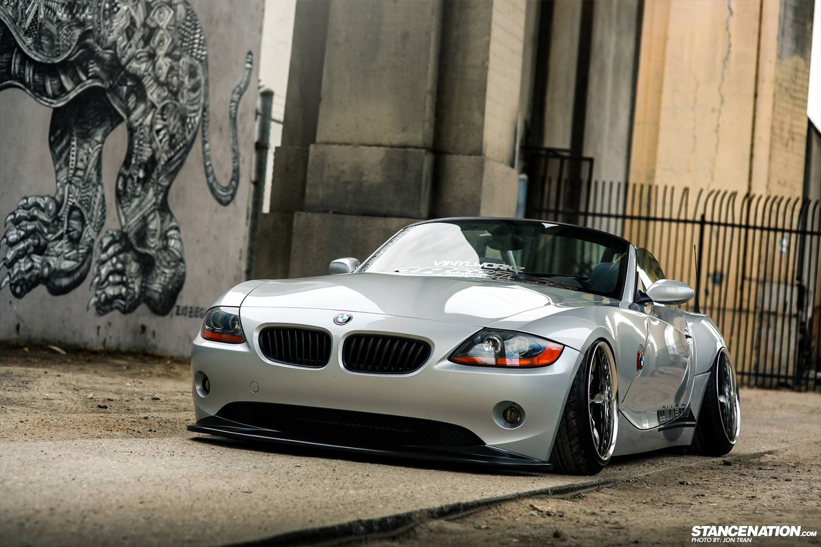 Down Amp Out Low N Slow Bmw Z4 Stancenation Form Gt Function