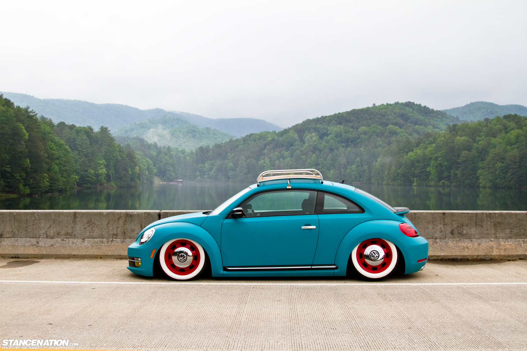 Vw new beetle tuning pictures and photos - Being The First To Do Something Is One Way To Guarantee To Stand Out And The Cardy S Did Just That Their New Beetle Was Purchased On New Years Eve Of 2012