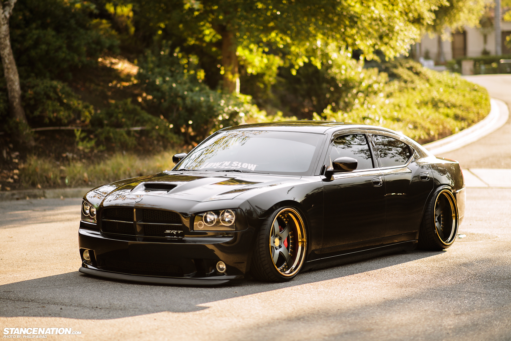 slammed domestic alek 39 s dodge charger srt8 stancenation form function. Black Bedroom Furniture Sets. Home Design Ideas