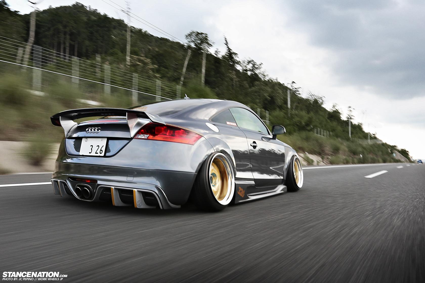 Audi Tt X 326power X Work Wheels Stancenation Form