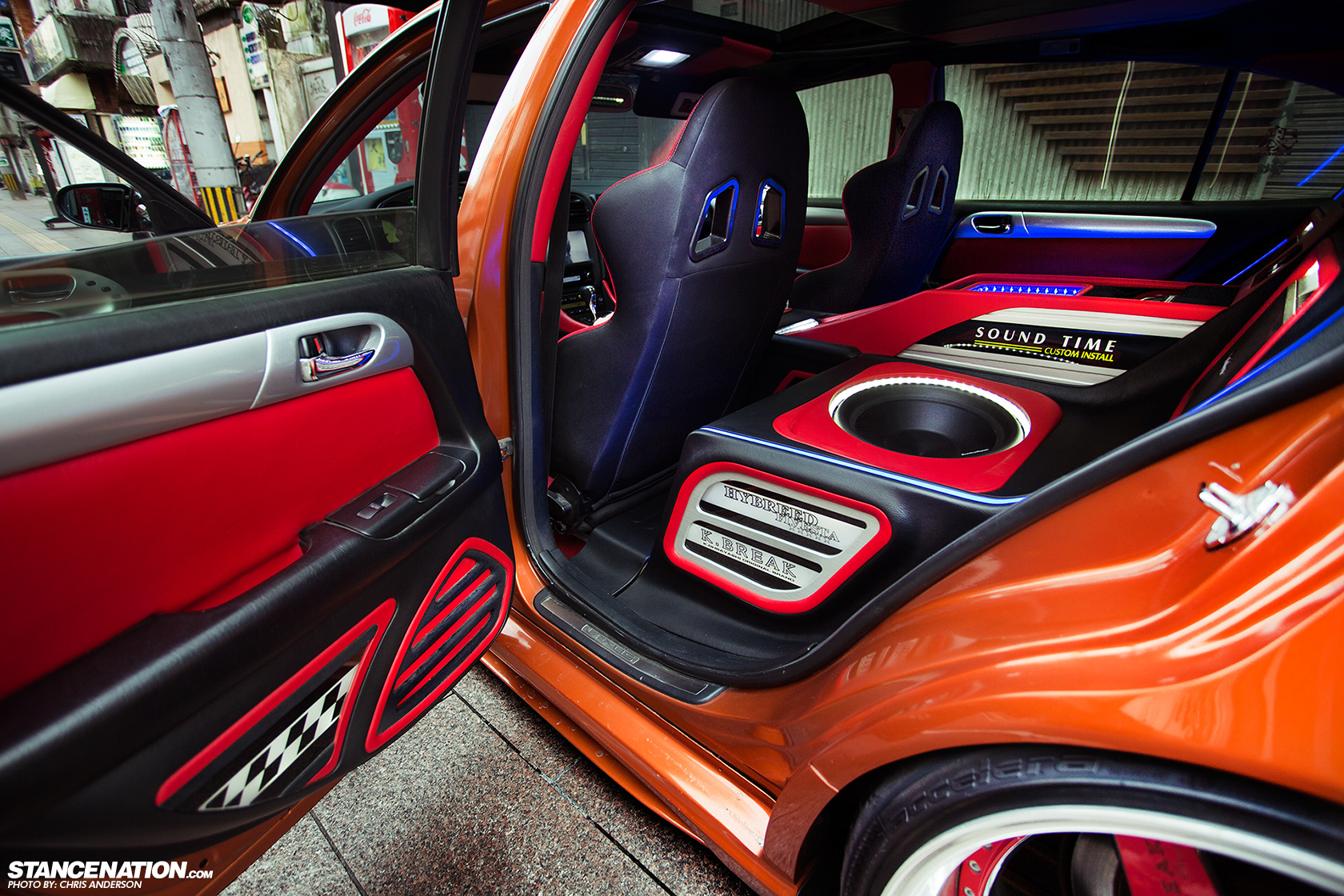 gs300 red interior