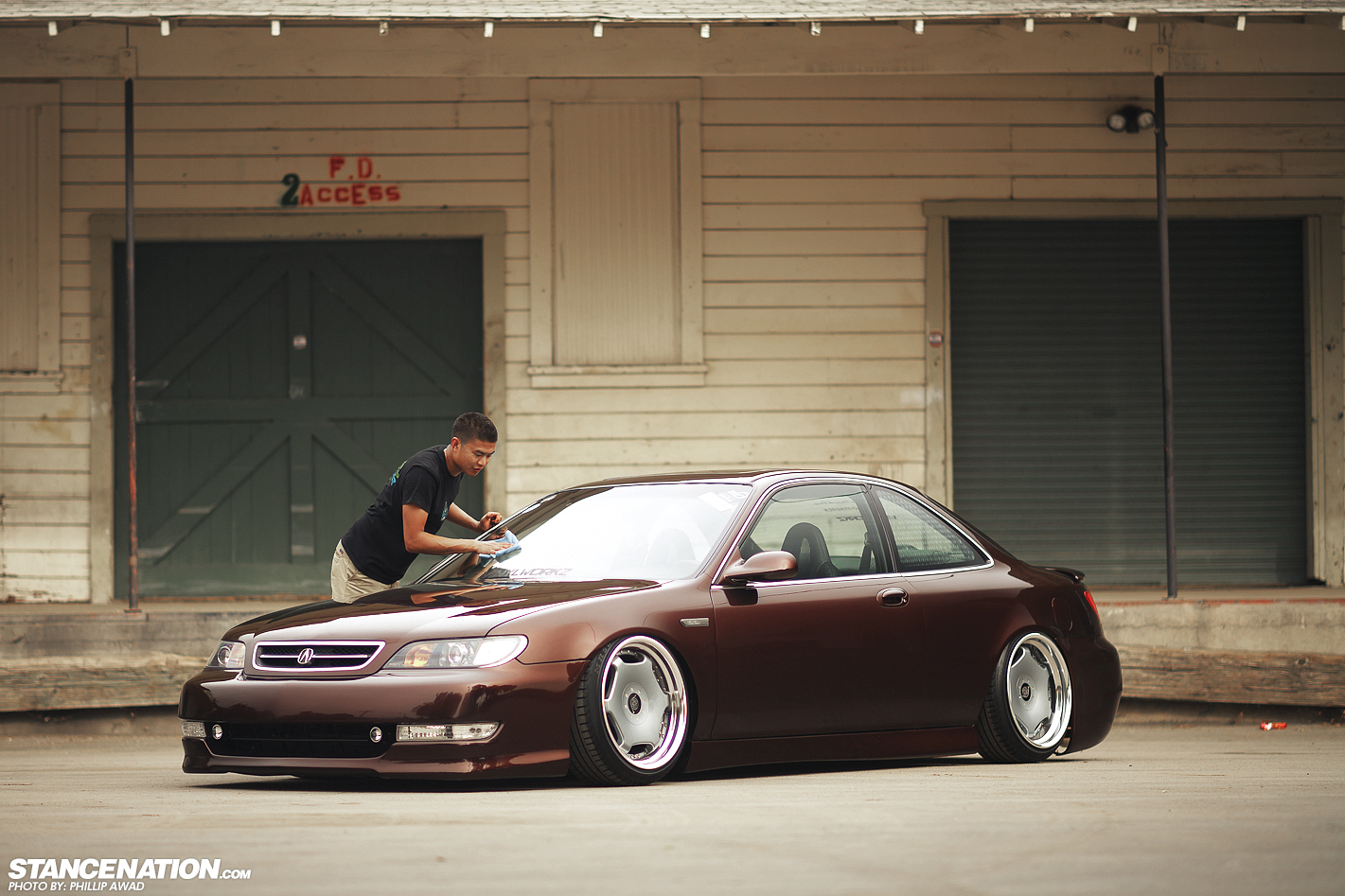 Whats Your Style Nates VIPstyled Acura CL StanceNation - Acura cl 97