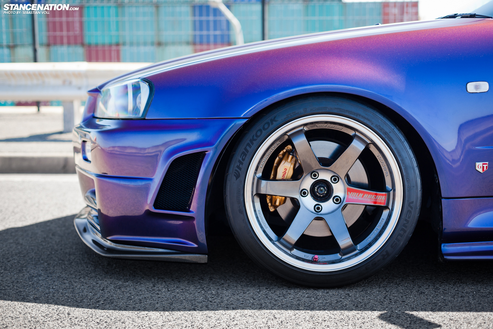 Sticking To True JDM Fashion, David Has Outfitted His Skyline With Not One  But Two Sets Of Wheels. A Set Of SSR SP3u0027s And A Set Of Volk TE37 SLu0027s  (pictured) ...