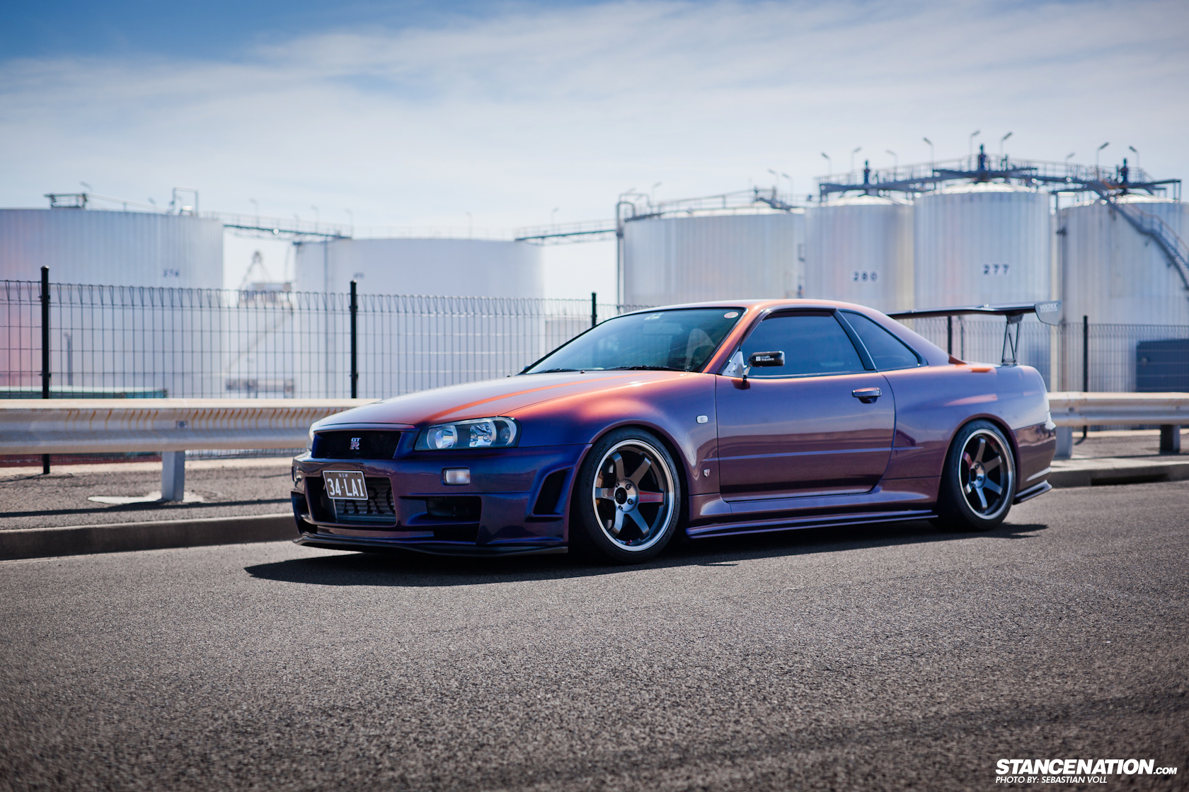 The Voltex Wing Out Back Suits The Overall Theme Of The GTR And Goes Along  With Its Natural Aggressive Nature. Big GT Wings Are Making A Come Back In  The ...