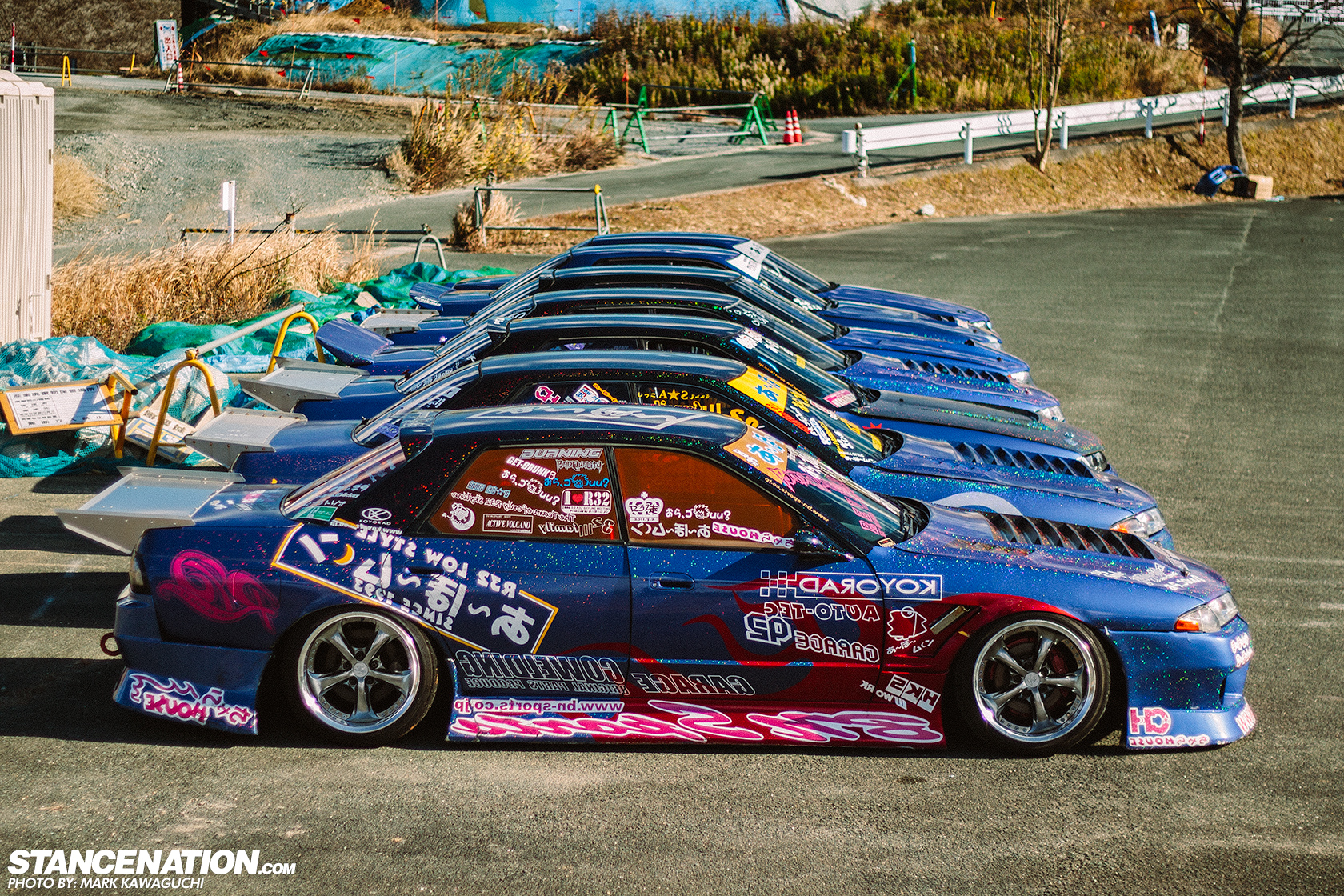 Awesome Footage Of Japan S Best Drifters Attacking A Narrow