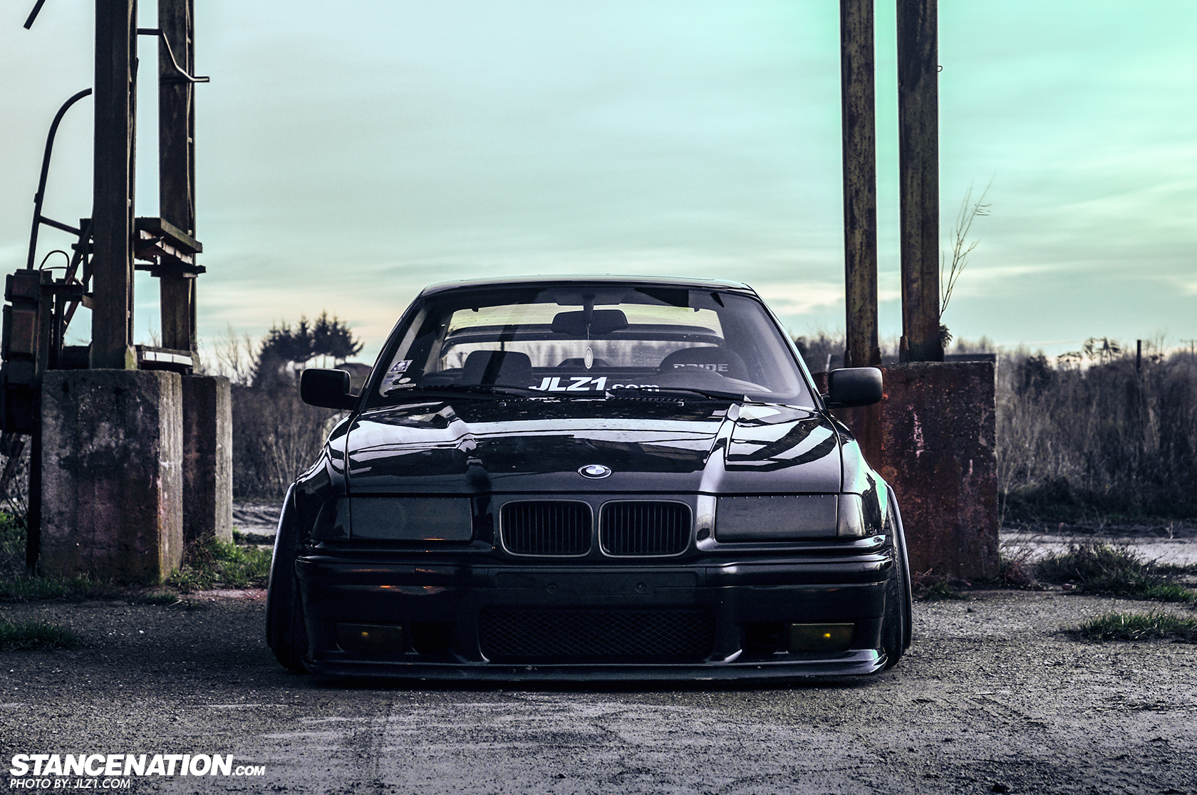 putting poland on the map michal 39 s alpina e36 stancenation form function. Black Bedroom Furniture Sets. Home Design Ideas