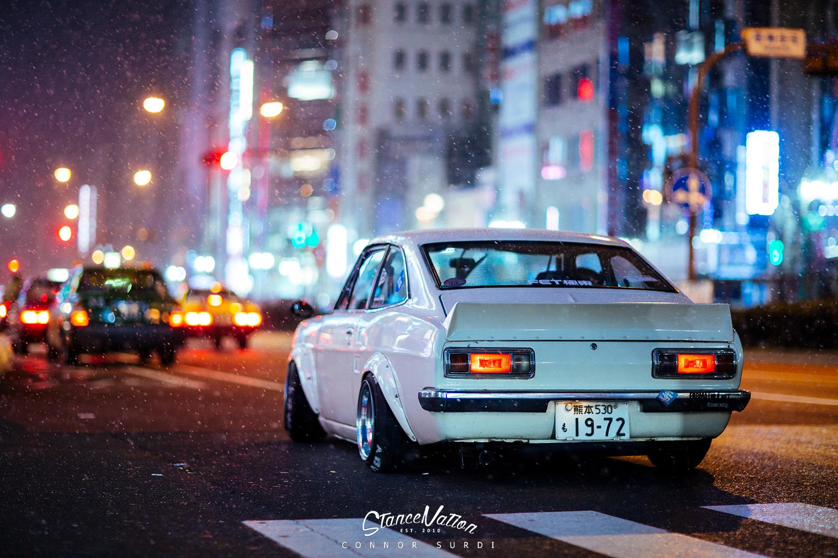 Shakotan Fever // Teru's Datsun Sunny Coupe ...