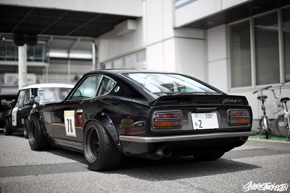 classic nissan 240z stancenation form function. Black Bedroom Furniture Sets. Home Design Ideas
