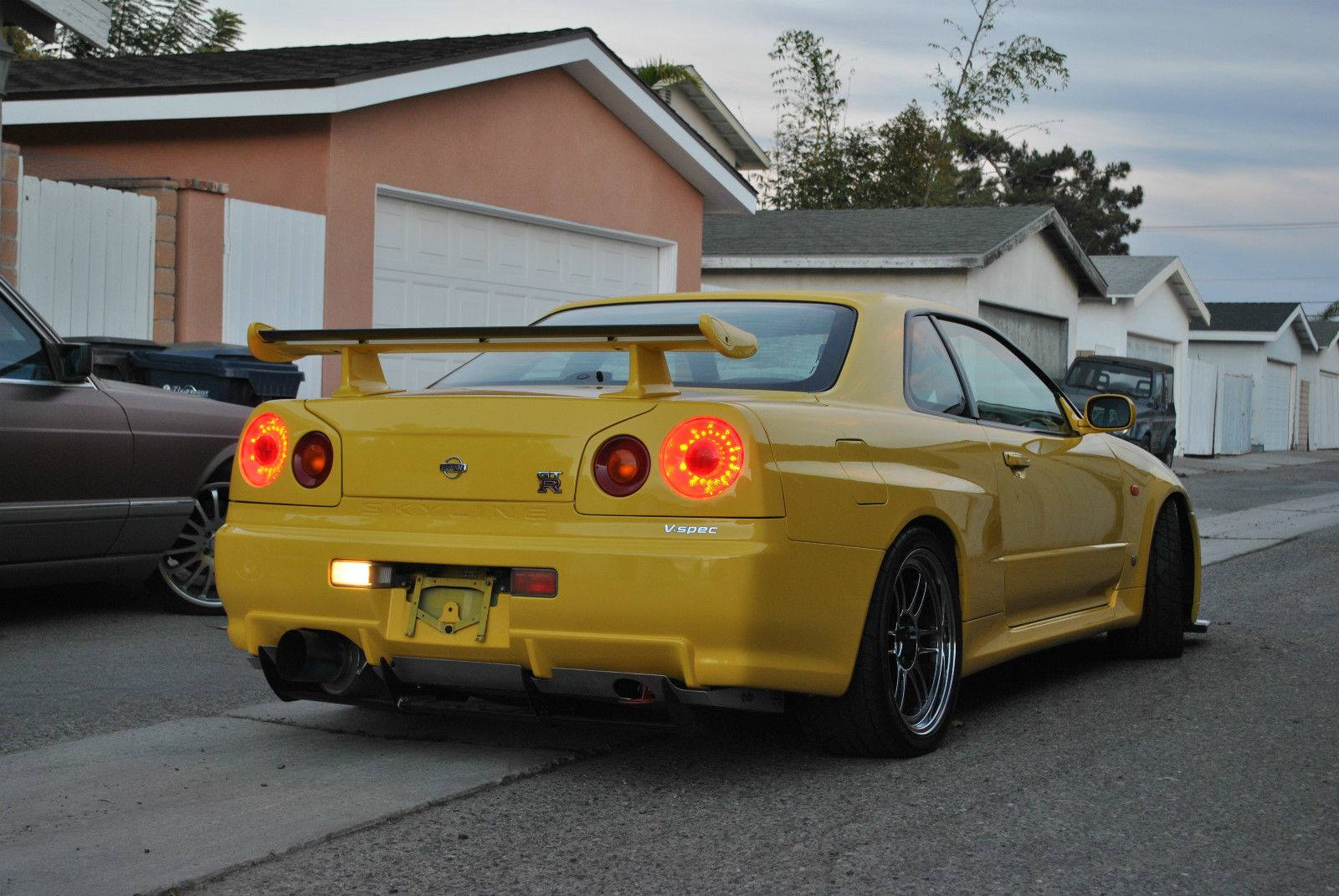 Love us a Yellow R34 GTR.   StanceNation™ // Form > Function