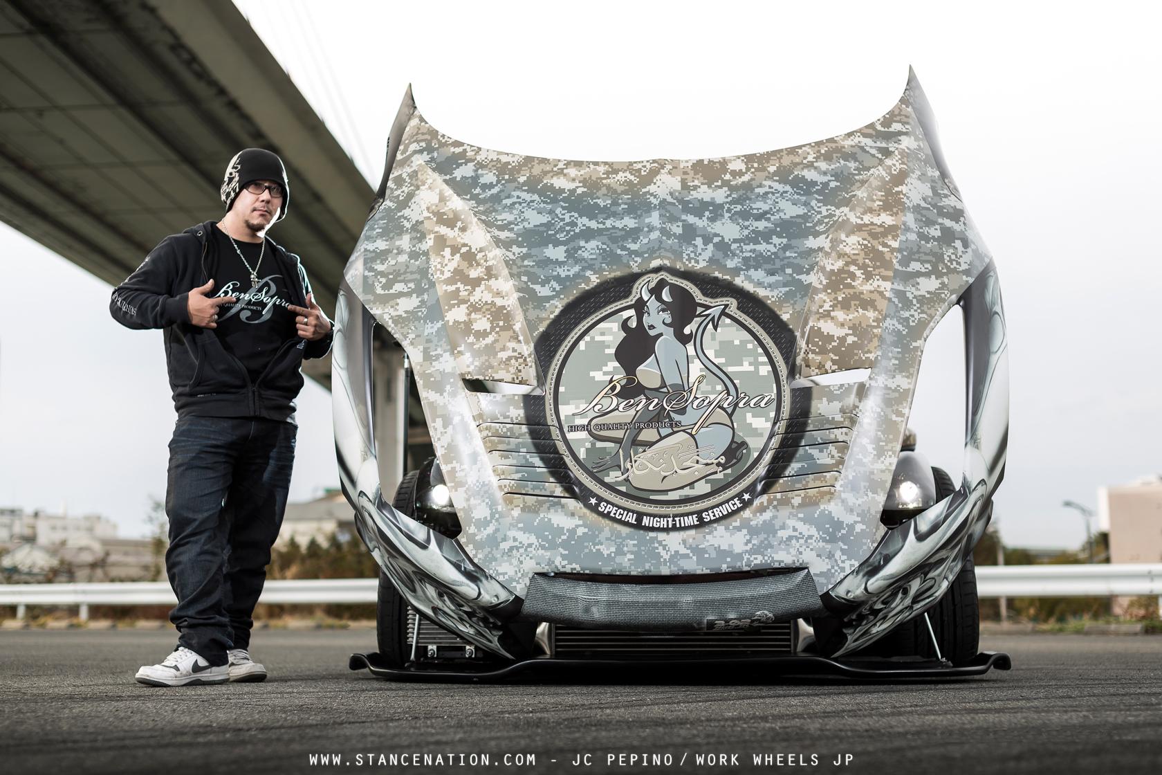 Ben Sopra X Universal Air X Art Factory Nissan Gt R Stancenation Form Gt Function