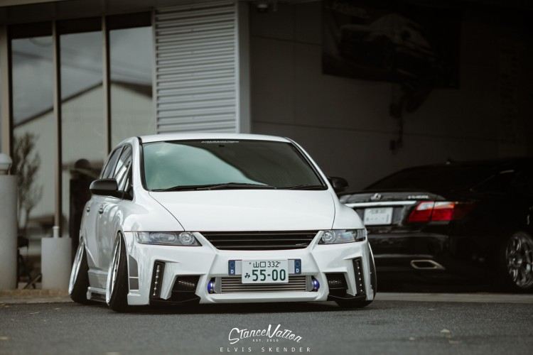 Honda Odyssey 2018 Japan >> A Closer Look At Aimgain Japan // The Odyssey. | StanceNation™ // Form > Function
