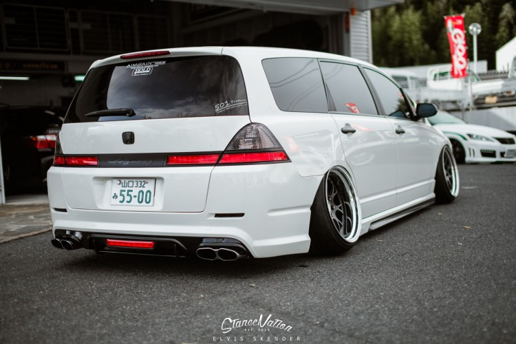 Slammed AIMGAIN VIP Style Honda Odyssey Van-13
