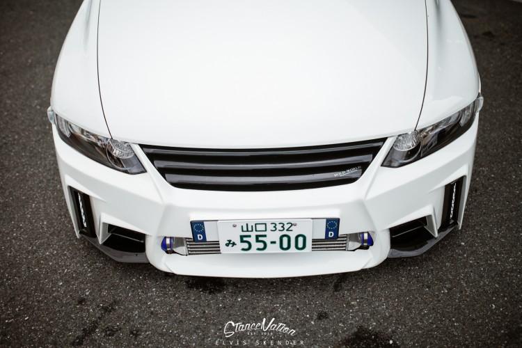 Slammed AIMGAIN VIP Style Honda Odyssey Van-3