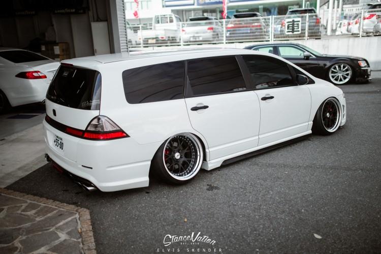 Slammed AIMGAIN VIP Style Honda Odyssey Van-6