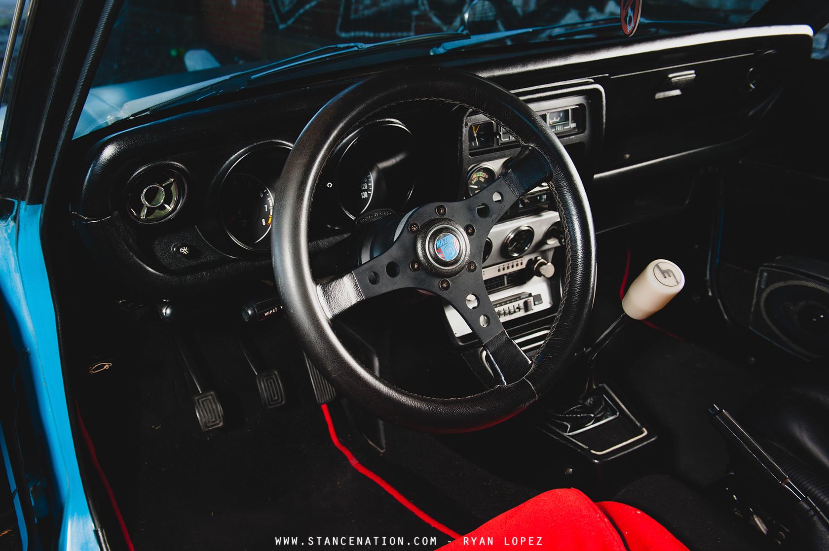 Old School Perfection // Phil Sohn\'s Mazda RX3. | StanceNation ...